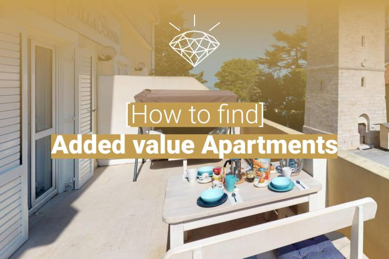 How to find added value apartments in Novigrad