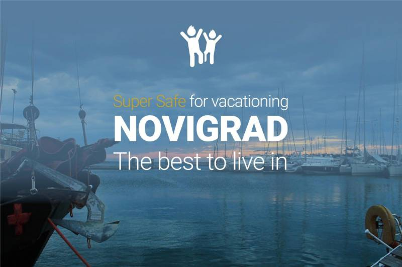 Spend a vacation in Novigrad - the best city to live in