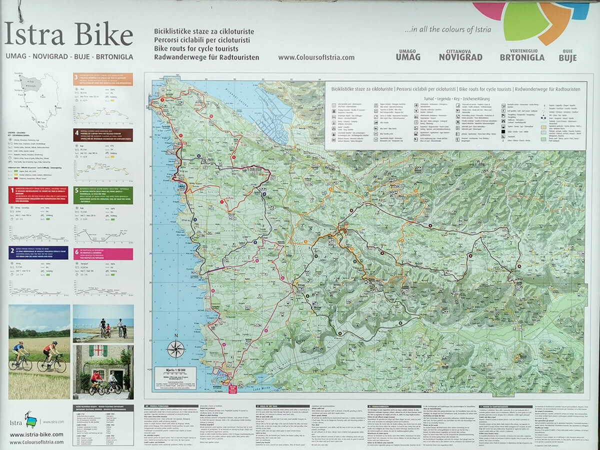 Renting a bicycle in Istria brings you freedom and flexibility
